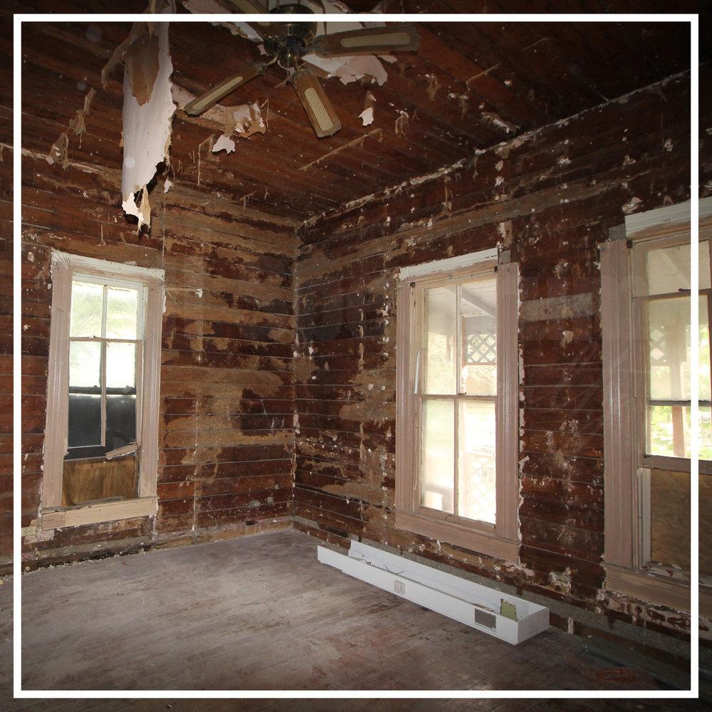 Historic Home Renovation Demo Day