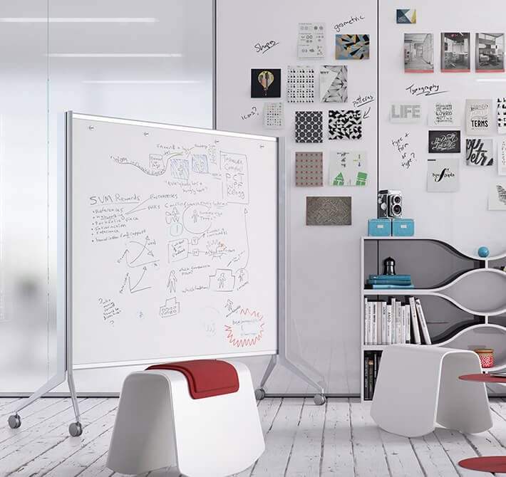 Whiteboards + Carts