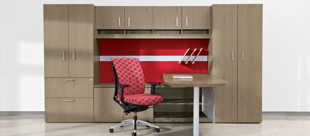 Veneer Desking