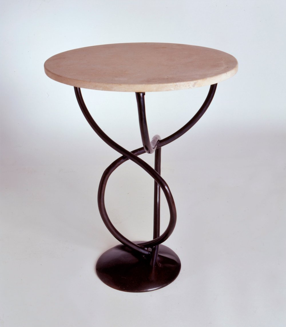 Art Moderne Stone Top Table