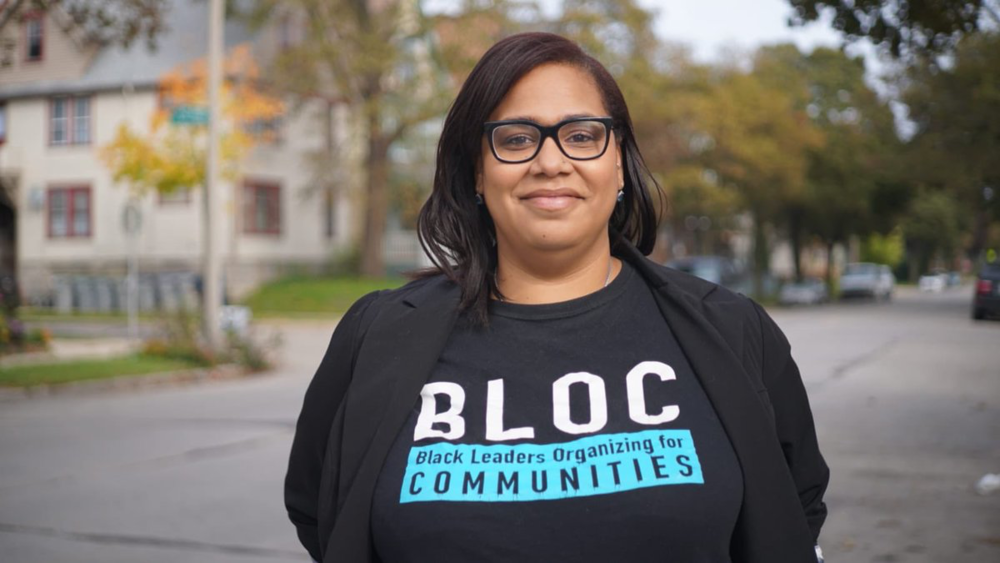 Angela Lang, BLOC founder, is helping black voters in Milwaukee flex new muscles.