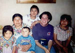 As a long-term accompanier with Witness for Peace in Santiago de Atitlán, Guatemala, 1994