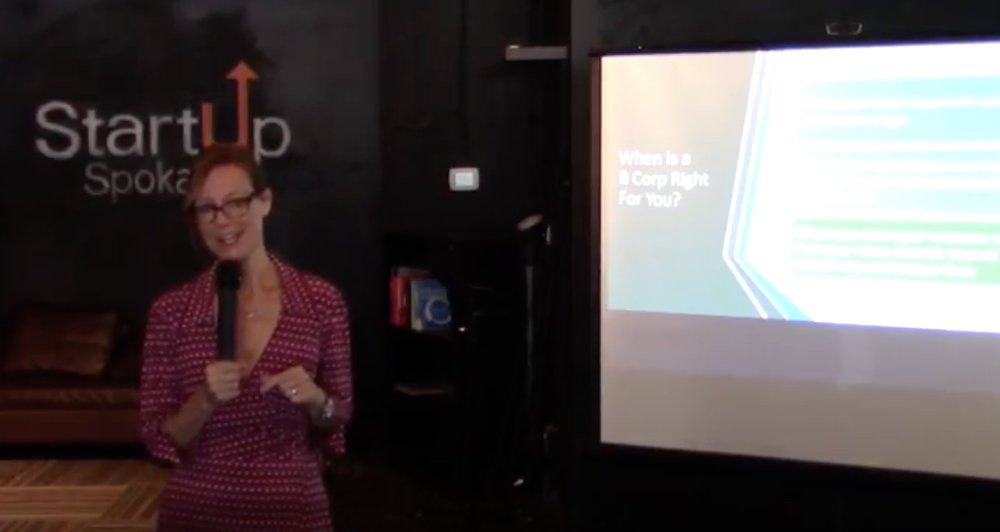 Defining Your Values - Lunch & Learn Presentation @ Startup Spokane: Why businesses should care about social impact.