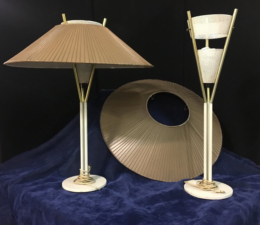 Pair of Vintage Lamps   SOLD January 2018 for $1,200