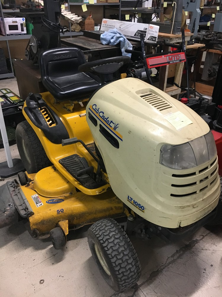 Cub Cadet Riding Mower   SOLD January 2018 for $510