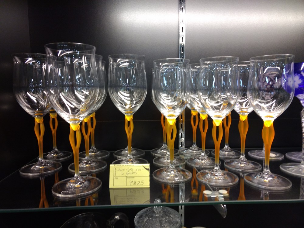 Set of Wine Glasses   SOLD January 2018 for $200