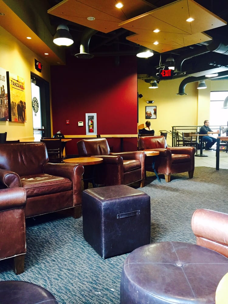 Ok yes this is a terrible picture but those chairs look sort of comfy? Photo: Yelp