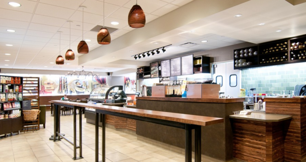 (Disclaimer: This Starbucks is never empty.) Photo: DeanBuilds