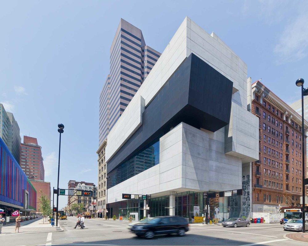 contemporary arts center - 44 E 6th St, Cincinnati, OH 45202Zaha Hadid Architects, completed 2003