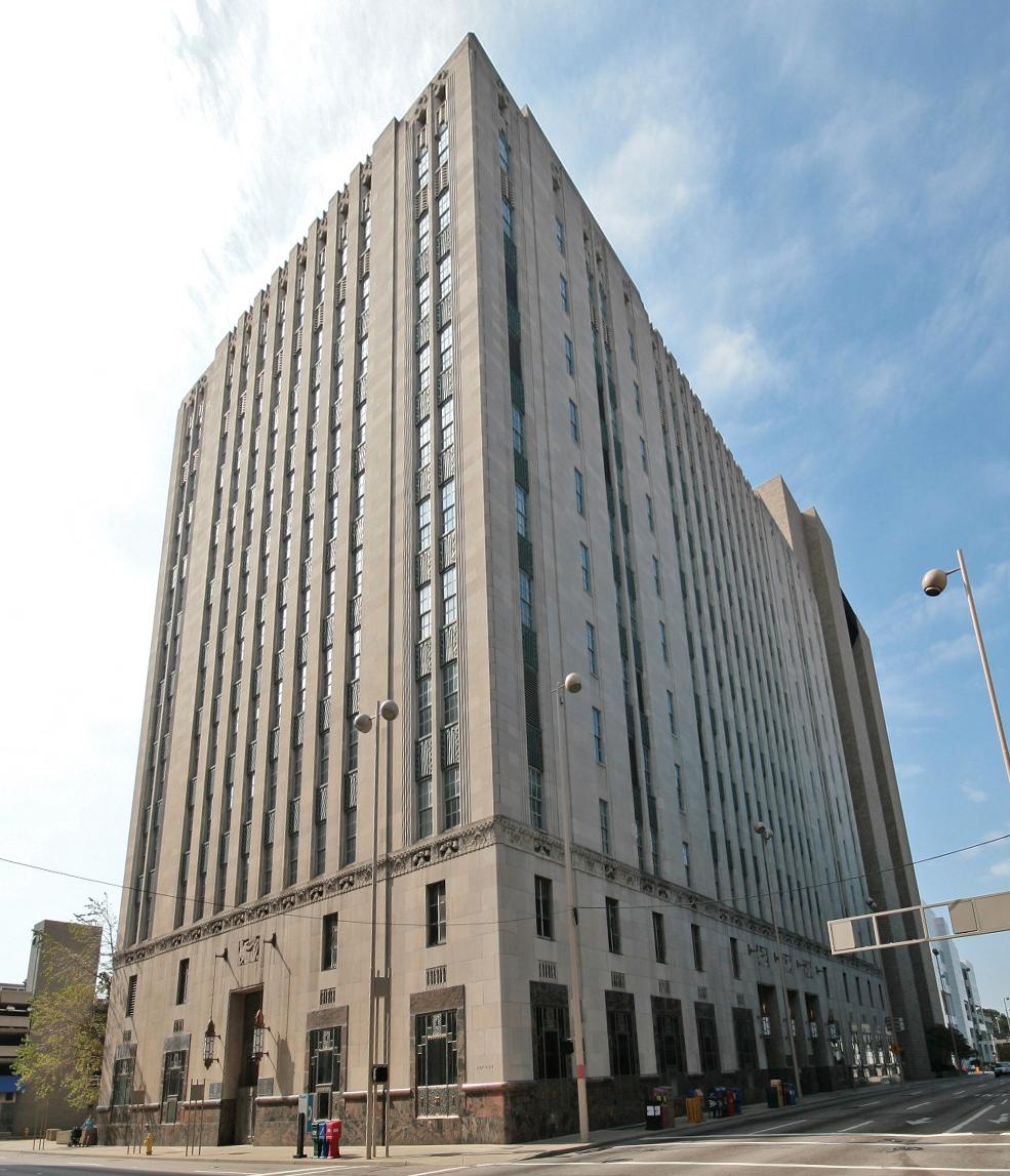 Cincinnati Bell Building - 209 W 7th St, Cincinnati, OH 45202Harry Hake, completed 1931