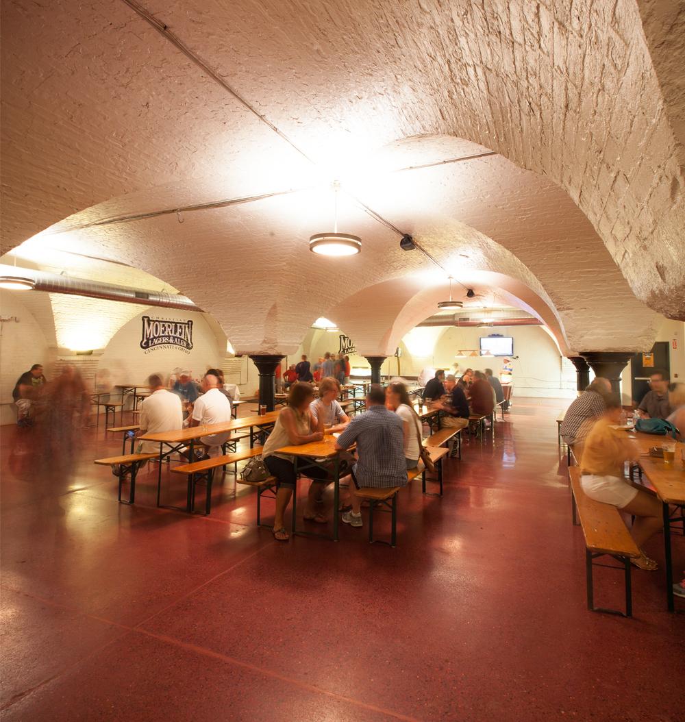 Moerlein malt house tap room - 1621 Moore St, Cincinnati, OH 45202Renovation completed 2013