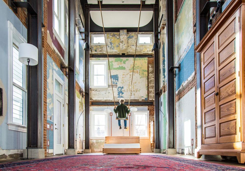 swing house - 1373 Avon Place, Cincinnati OH 45225Mark deJong, opened/closed 2017