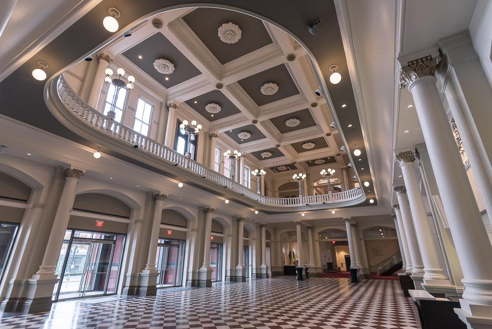 music hall - 1241 Elm St, Cincinnati, OH 45202Samuel Hannaford, completed 1878, renovated 2017 by Martinez + Johnson Architecture and Perfido Weiskopf Wagstaff + Goettel