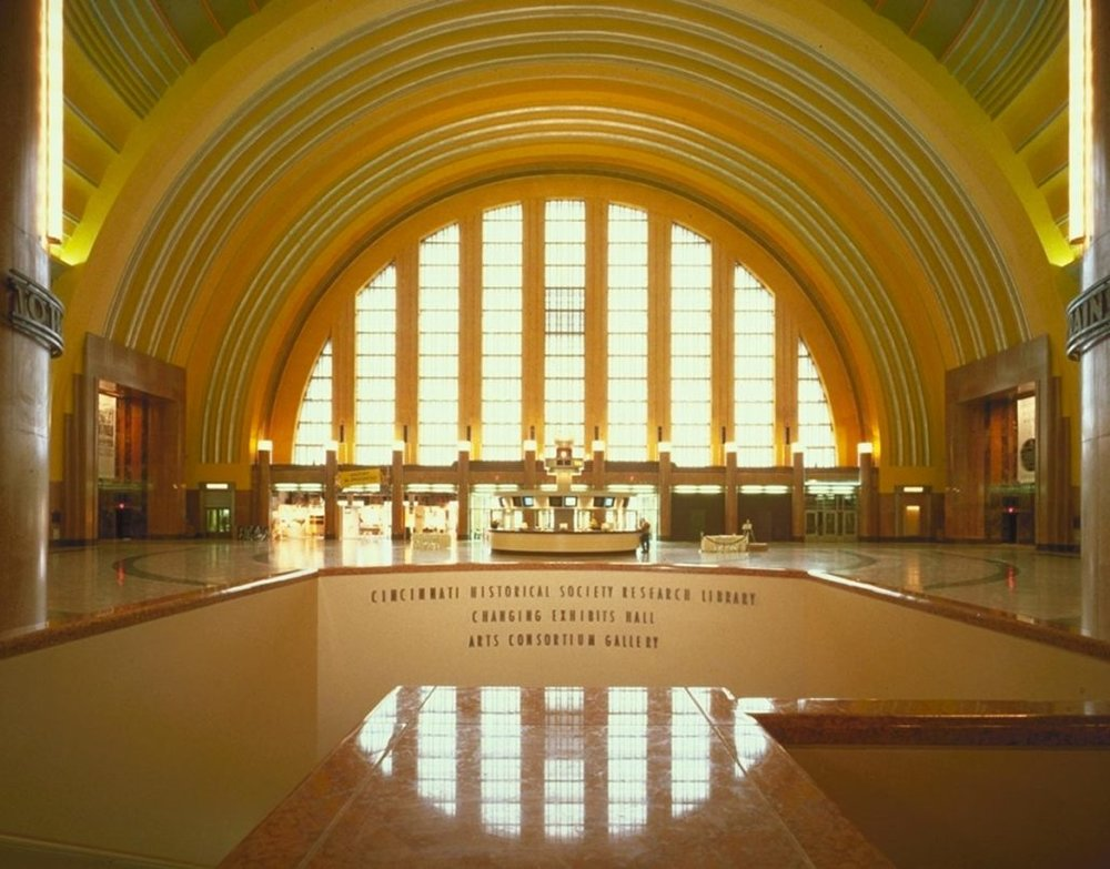 union terminal - 1301 Western Ave, Cincinnati, OH 45203Fellheimer & Wagner, completed 1933, currently being renovated by GBBN Architects