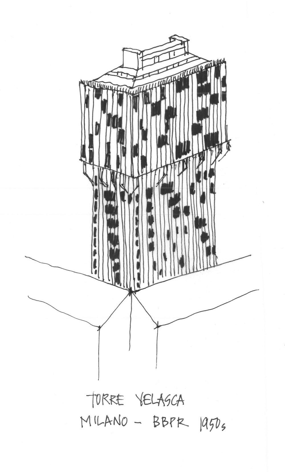 Torre Velasca, Milano