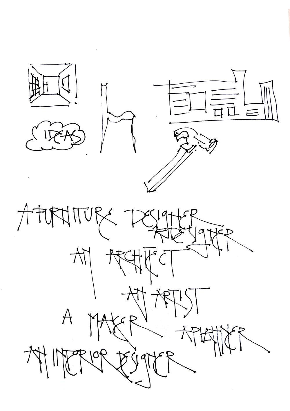 designer. maker. artist. planner.