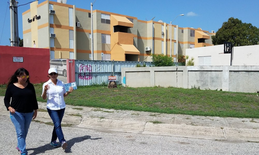 Rain Garden Project in la Playa de Ponce
