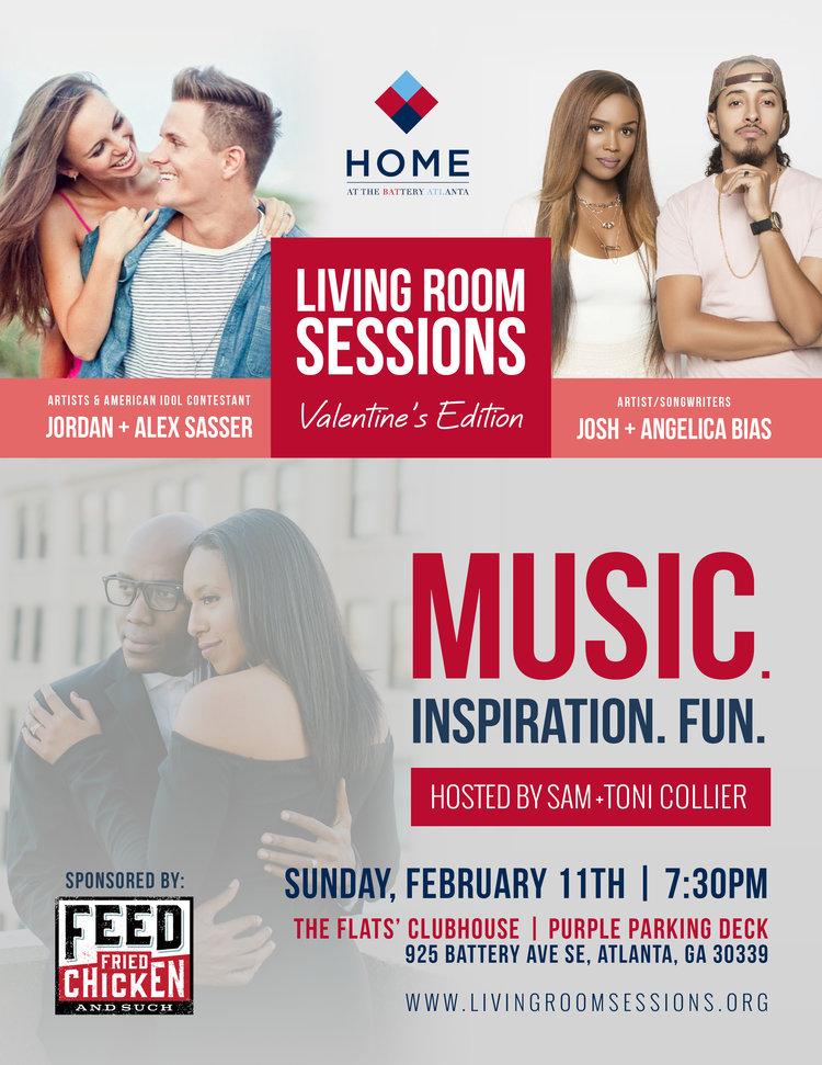 Jordan & Alex Sasser + Josh & Angelica Bias LIVE! — The Living Room ...