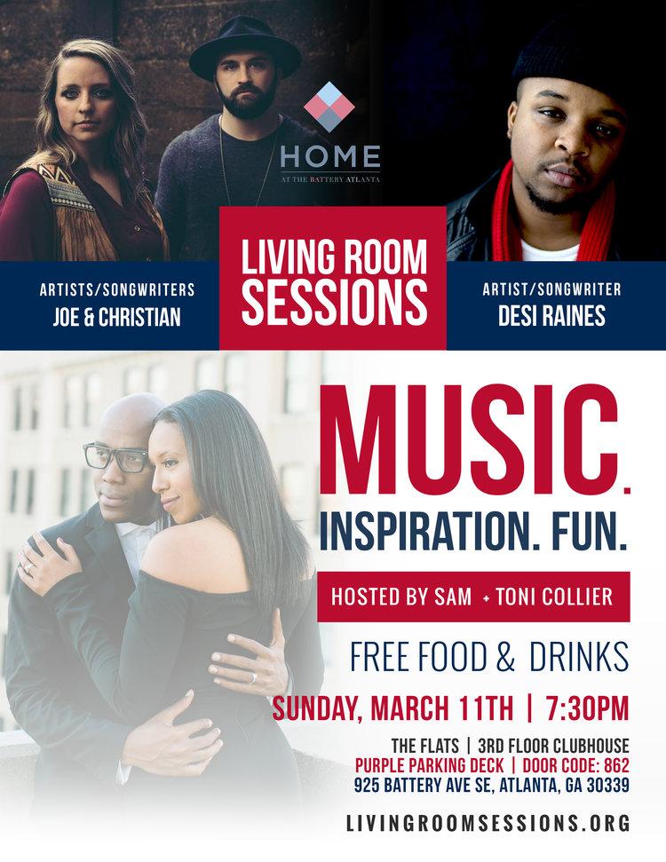 Joe + Christian Leaphart & Desi Raines — The Living Room Sessions
