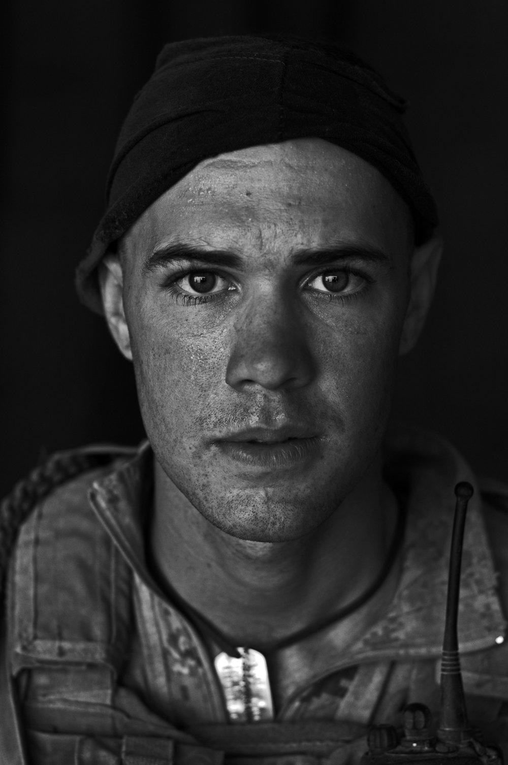 3-U.S. Marine Pfc. Chad Wilson