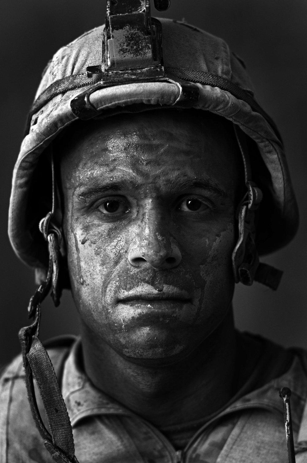 """8-U.S. Marine GySgt. Carlos """"OJ"""" Orjuela"""