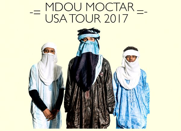Old Gold opening for legendary African guitarist Mdou Moctar and full band at Zebulon Sept. 8 2017 -