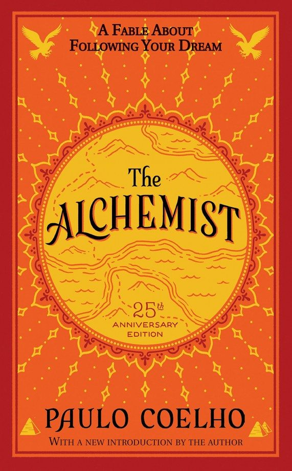 8. The Alchemist - Coelho - The Alchemist is a book centered around discovering what is truly valuable and finding your own path. The main character, Santiago, is on a journey to find a treasure he believes to be in the Egyptian pyramids. However, along the way, he discovers true love and his own purpose. This is the perfect novel to take with you on your next journey for life's meaning.