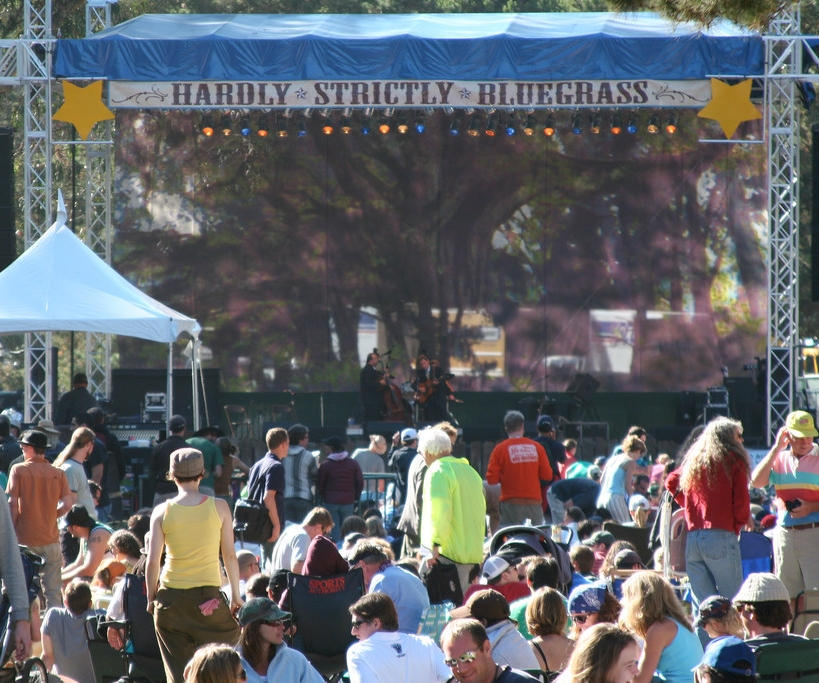 2. Hardly Strictly Bluegrass Festival - Between October 6 to 8, come out to Golden Gate Park to listen to 90 different artists. The entire festival is free! Set up a blanket at any of the multiple stages, pick up some food from the multiple food trucks located around the park and enjoy the music!