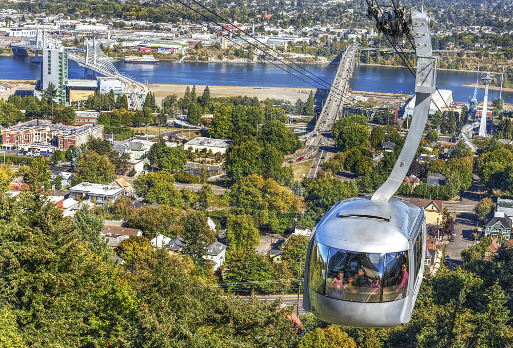 [Photo: Portland Aerial Tram. Credit:  Ian Sane .]