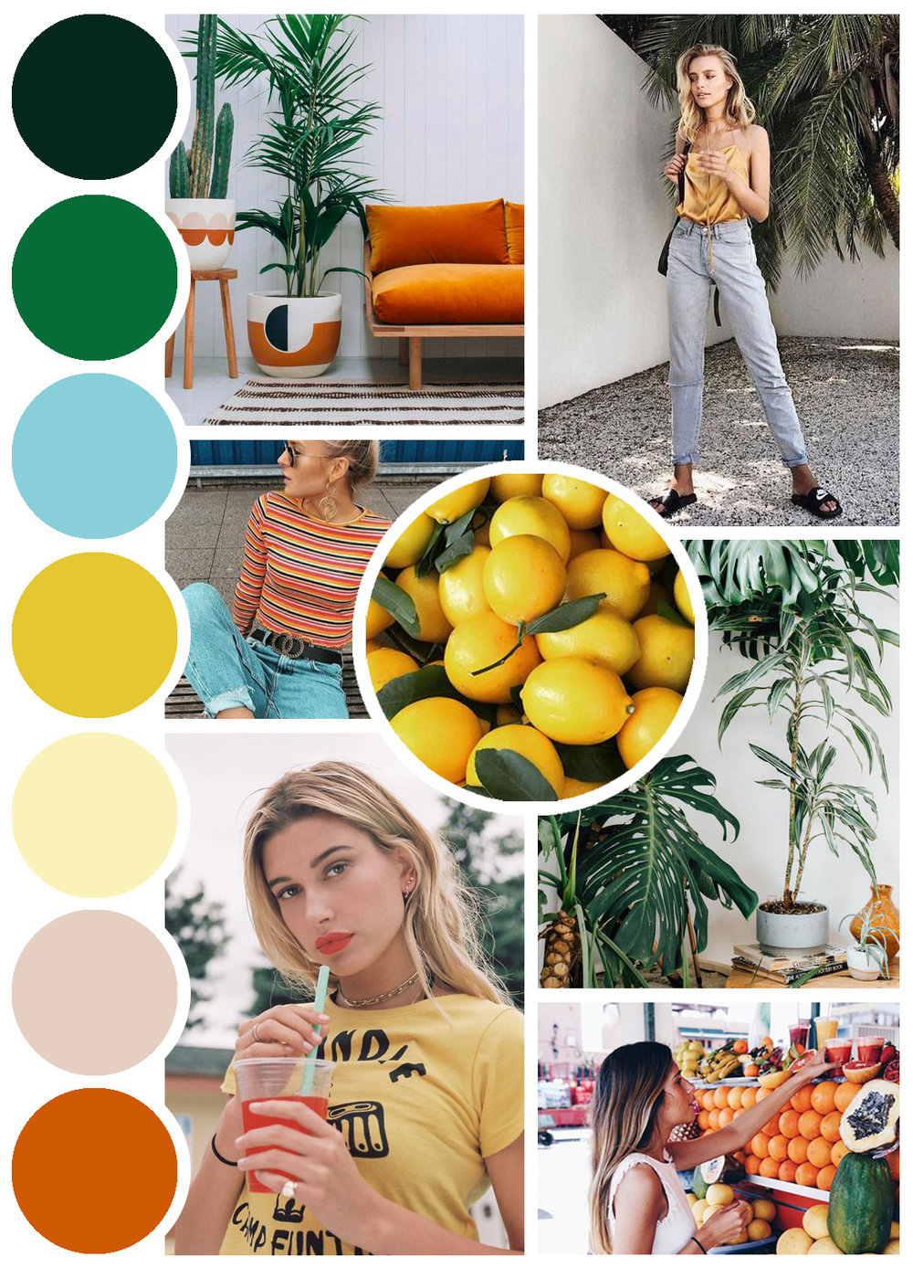 COLOR PALETTE + MOODBOARD