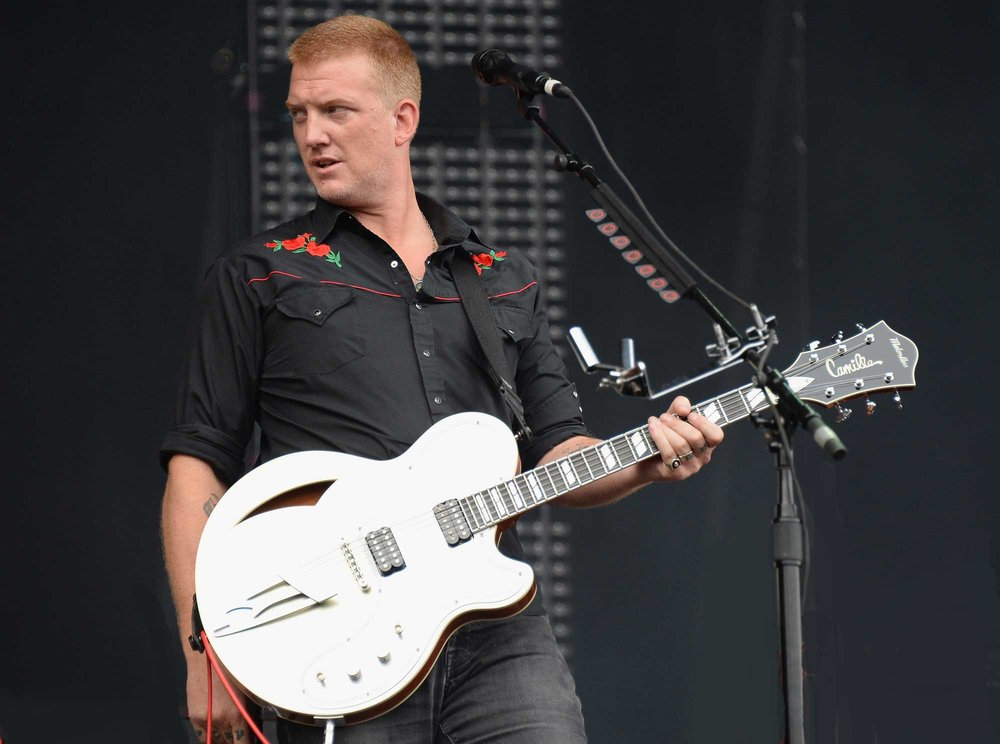 Josh Homme plays 3 BelAires, 1 LaMirada, and a MotoSteel