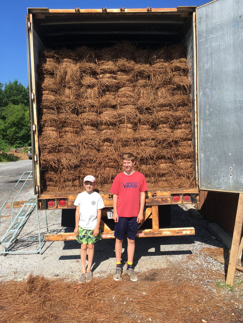 Colton and Grady June 2018 Pine Straw Trailer at Maxwell's.jpg