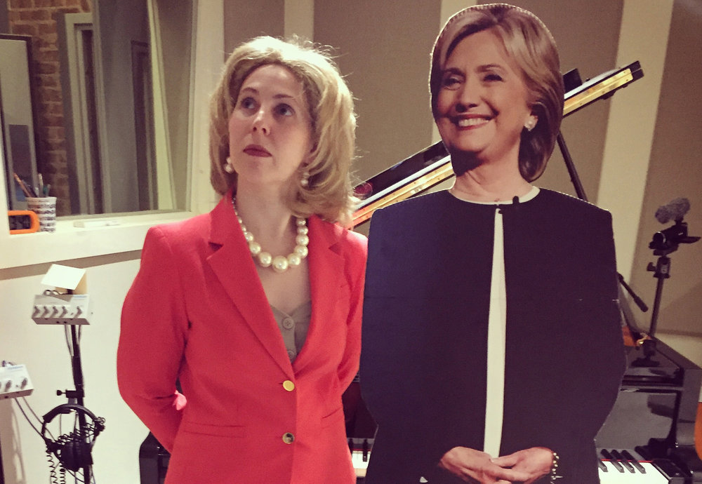Imagining the inner world of Hillary Clinton in the weeks following the 2016 election. -