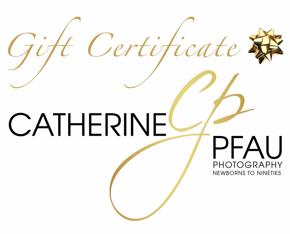 Catherine Pfau Photography Gift Certificates