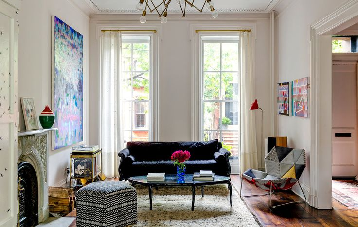 Image Source: Mike D's Cobble Hill town home via The New York Times