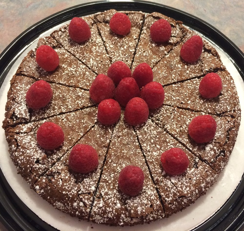 GF - Flourless Chocolate Almond Cake