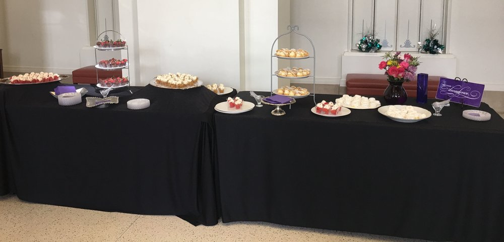 Catering - 5 desserts