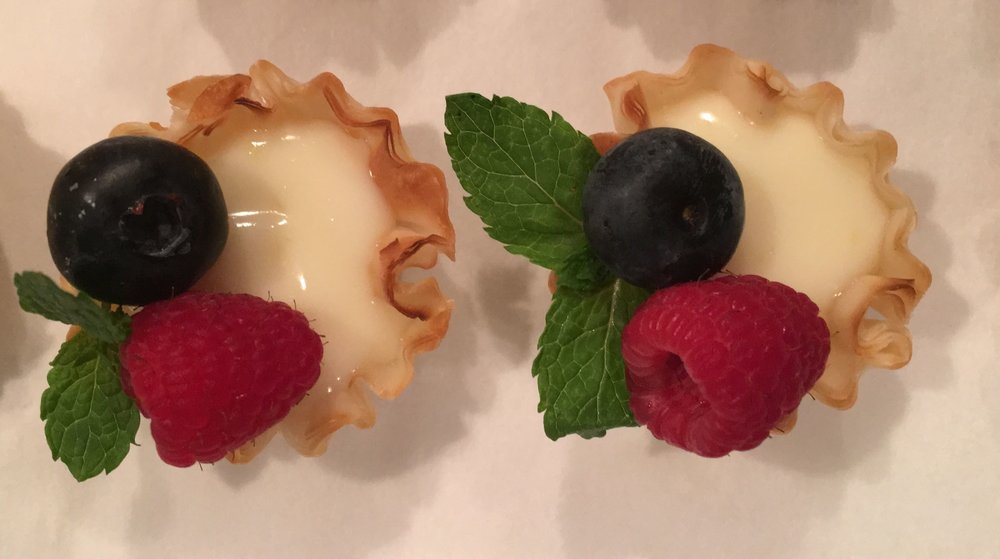 Mini Lemon Berry Tarts
