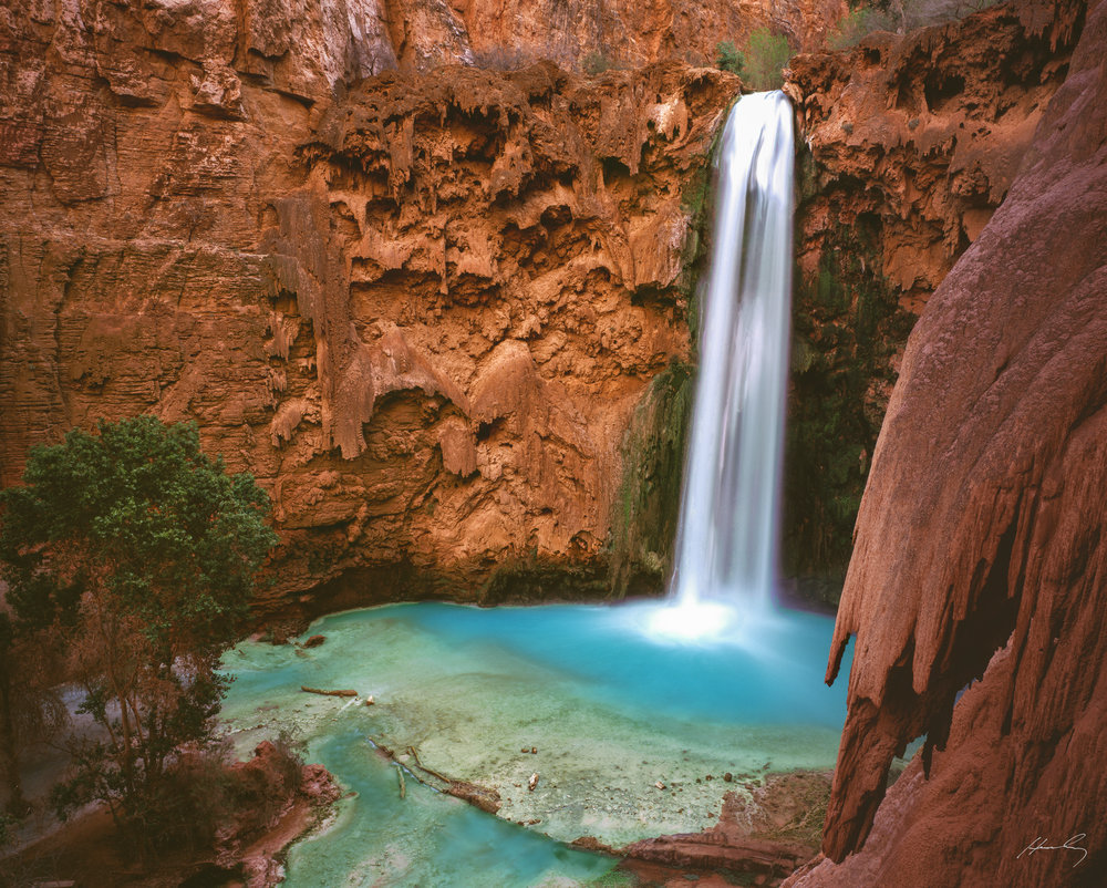 """Mooney Falls"" Supai, Arizona"