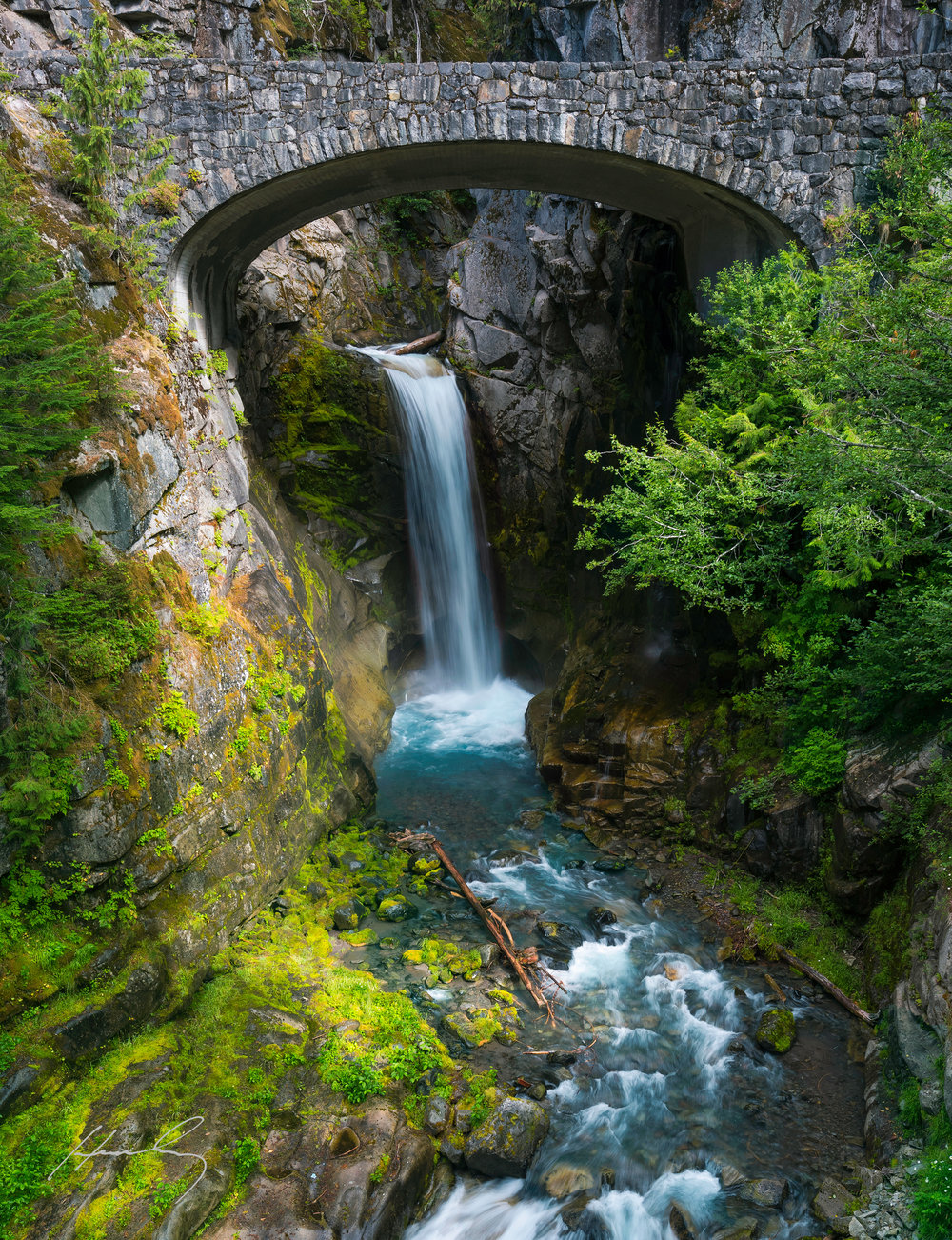 """Christine Falls"" Mt Rainier N.P., Washington"