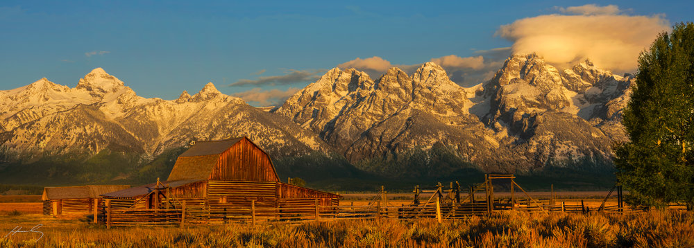 """Mormon Row"" Grand Teton N.P., Wyoming"