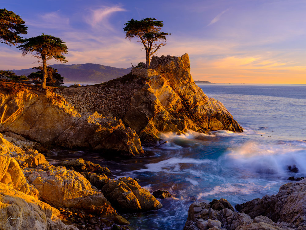 """Close of Day"", Pebble Beach, CA"