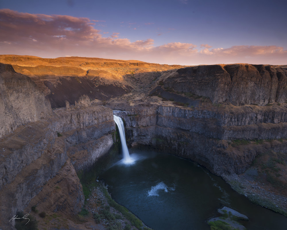 """Palouse Falls"" LaCrosse, Washington"