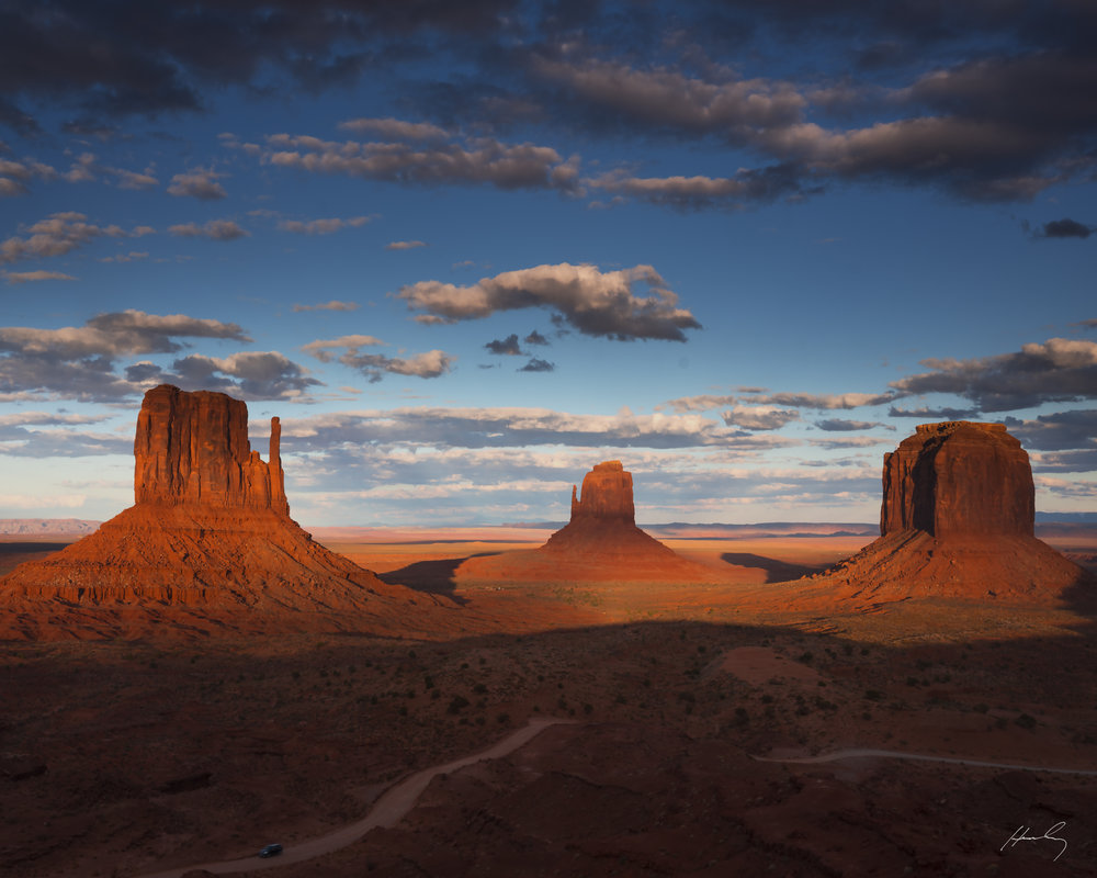 """Last of Day"", Monument Valley, Arizona"