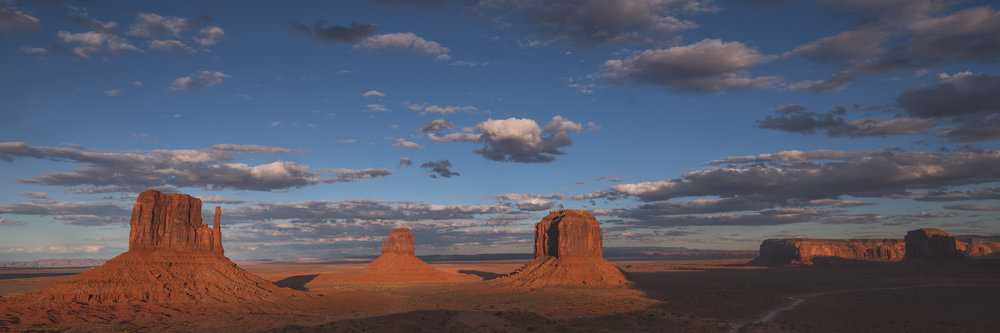 """Last of Day"" Monument Valley, Arizona"