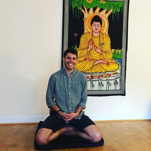 Devin Maroney's Natural Awareness 1/2 day retreat is this Sunday 8/5 from 1-5pm. Dana-based. Details on our calendar. He shared continuing of awareness as taught by Sayadaw U Tejanyia and Carol Wilson in early morning class today—It's like this right now. #gratitude #dharma #meditation #mindfulness #sangha #meditationdc #dc #tenleytown #meditationeveryday