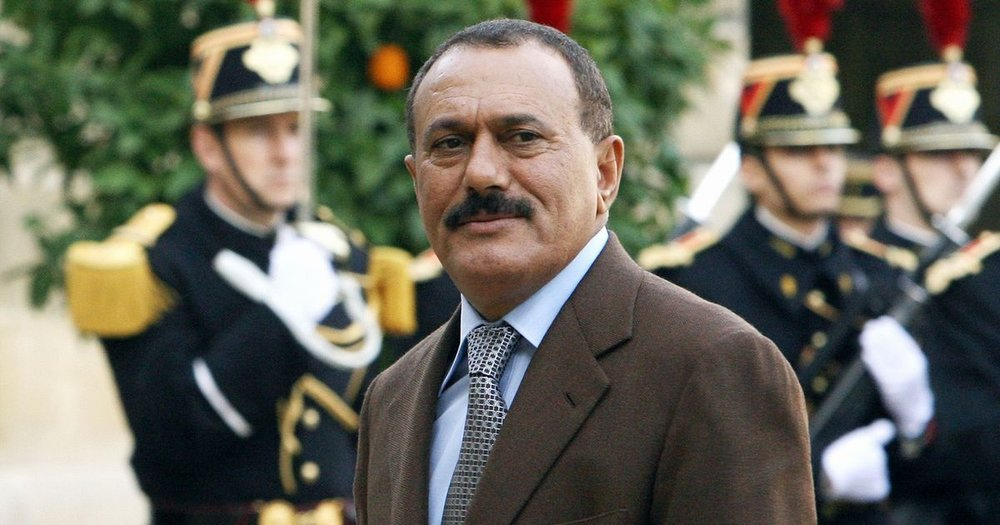 Ali Abdullah Saleh, former President of Yemen, from 1978 (of North Yemen) to 2012. Saudi influence rose steadily under his rule.