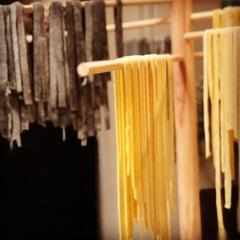 - Filet Mignon and Squid ink Fettucini