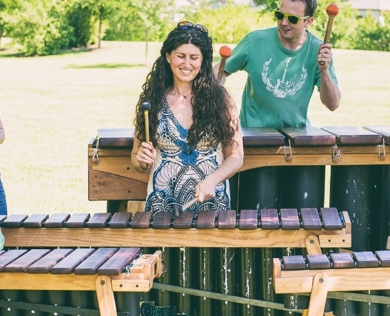 Rakefet Laviolette - Currently serves as the Programs Director of Rattletree School of Marimba, an organization that focuses on offering band-style classes teaching the community how to play all sorts of different kinds of marimbas. On this week's MEMBER MONDAYS, we spoke with her about what brought her to the marimba in the first place and what amazing things she's doing with her unique, exciting organization.