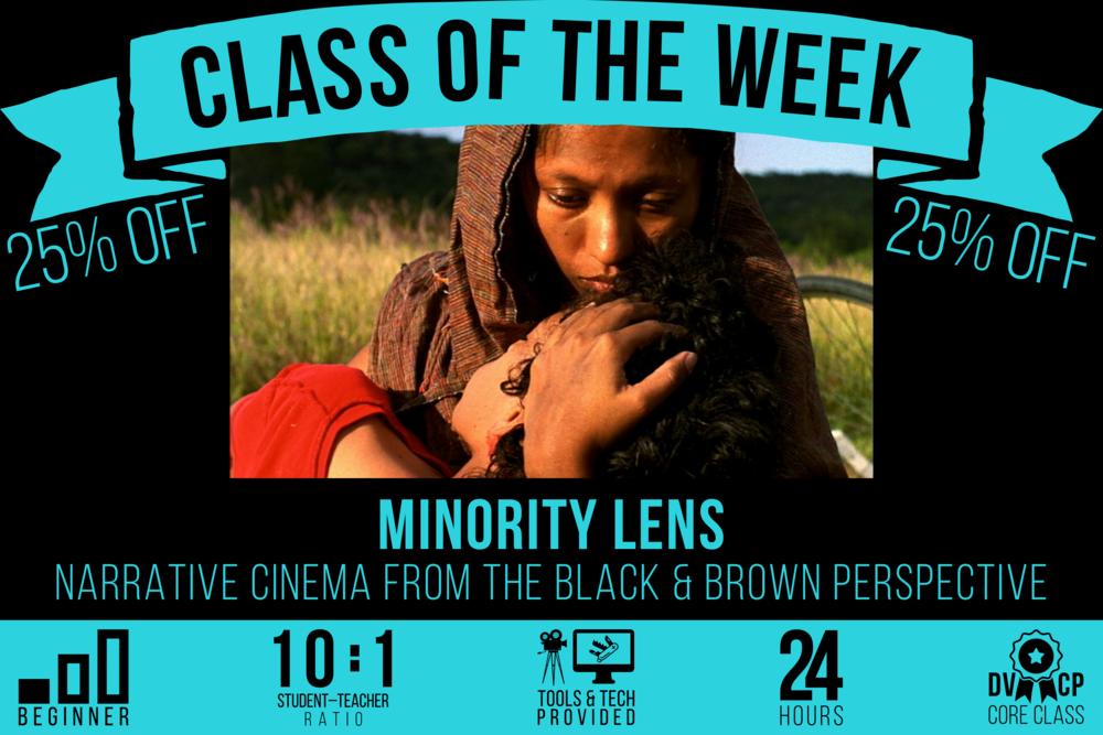 CLASS OF THE WEEK: Minority Lens